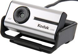 The two megapixel autofocus Kodak L200 webcam. Photo provided by Sakar International Inc. Click for a bigger picture!