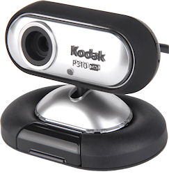 The three megapixel high-definition Kodak P310 HD. Photo provided by Sakar International Inc. Click for a bigger picture!