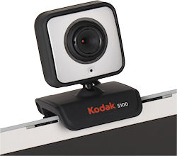 The Kodak S100 is driver-free and costs under $30. Photo provided by Sakar International Inc. Click for a bigger picture!
