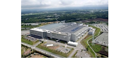 Sony Semiconductor Kyushu Corporation's Kumamoto Technology Center. Photo and caption provided by Sony Corp. Click for a bigger picture!