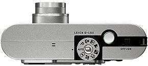 Leica's D-LUX digital camera. Courtesy of Leica, with modifications by Michael R. Tomkins.