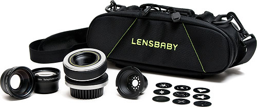 The Lensbaby Portrait Kit. Photo provided by Lensbaby Inc. Click for a bigger picture!