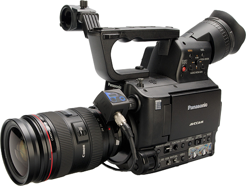 Redrock Micro's LiveLens MFT adapter allows Canon EF-mount lenses to be used on Micro Four Thirds camera and camcorder bodies. Photo provided by Redrock Micro. Click for a bigger picture!