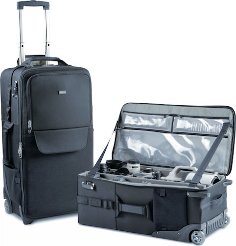 A pair of Logistics Manager organizer bags. Photo provided by Think Tank Photo LLC. Click for a bigger picture!