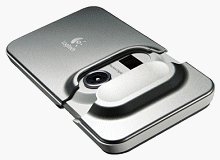 Logitech's Pocket Digital Camera. Courtesy of Logitech Inc., with modifications by Michael R. Tomkins.