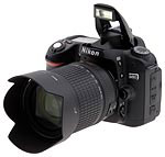 Nikon's D80 digital SLR. Copyright © 2006, The Imaging Resource. All rights reserved.