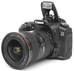 Canon's EOS-20D digital SLR. Copyright © 2004, The Imaging Resource. All rights reserved.