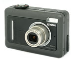 Epson's L-500V digital camera. Copyright © 2005, The Imaging Resource. All rights reserved.