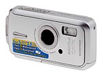 Pentax's Optio W10 digital camera. Copyright © 2006, The Imaging Resource. All rights reserved.