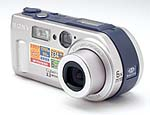 Sony's Cyber-shot DSC-P1 digital camera. Copyright © 2000, The Imaging Resource.  All rights reserved.