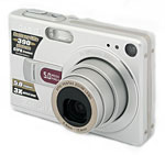 Casio's EXILIM ZOOM EX-Z50 digital camera. Copyright © 2005, The Imaging Resource. All rights reserved.