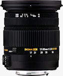 The SIGMA 17-50mm F2.8 EX DC OS HSM lens. Photo provided by Sigma Corp.
