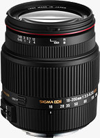 Sigma's 18-200mm f/3.5-6.3 II DC OS HSM lens. Photo provided by Sigma Corp. of America.