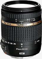 Tamron's 18-270mm F/3.5-6.3 Di II VC PZD (Model B008) DSLR lens. Photo provided by Tamron Co. Ltd.
