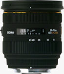 Sigma's 24-70mm F2.8 EX DG HSM lens. Courtesy of Sigma, with modifications by Michael R. Tomkins. Click for a bigger picture!