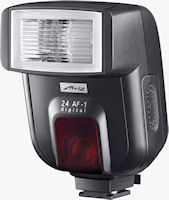 Metz's 24 AF-1 Digital flash strobe. Photo provided by Metz-Werke GmbH & Co KG.