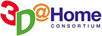 3D@Home Consortium logo. Click to visit their website!