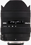 The SIGMA 8-16mm F4.5-5.6 DC HSM lens. Photo provided by Sigma Corp.