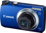 Canon PowerShot A3300 IS digital camera. Photo courtesy of Canon USA.