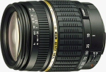 Tamron's AF18-200mm F/3.5-6.3 XR Di-II LD Aspherical (IF) MACRO lens. Courtesy of Tamron, with modifications by Michael R. Tomkins.