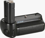 Ansmann's N-80 Pro battery grip. Courtesy of Ansmann, with modifications by Michael R. Tomkins.