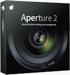 Apple's Aperture 2 packaging. Courtesy of Apple, with modifications by Michael R. Tomkins..