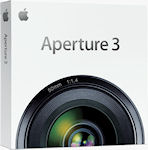 Apple's Aperture 3 product packaging. Image provided by Apple Inc.