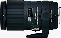 The Sigma APO MACRO 150mm F2.8 EX DG OS HSM lens. Photo provided by Sigma Corp. of America.