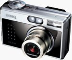 BenQ's DC-C50 digital camera. Courtesy of BenQ, with modifications by Michael R. Tomkins.