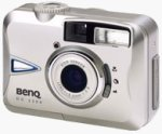 BenQ's DC2300 digital camera. Courtesy of BenQ, with modifications by Michael R. Tomkins.