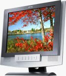 BenQ's FP791 LCD monitor. Courtesy of BenQ, with modifications by Michael R. Tomkins.