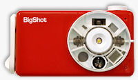 Front view of the BigShot digital camera. Photo provided by the Computer Vision Laboratory,�Columbia University.