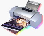 Canon's BJ-S9000 bubble jet printer. Courtesy of Canon.