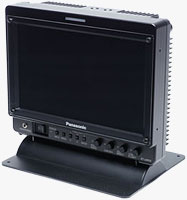 Panasonic's BT-LH910 9-inch LCD monitor. Photo provided by Panasonic Corp.