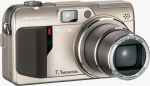 Olympus' Camedia C-7000Z digital camera. Courtesy of Olympus, with modifications by Michael R. Tomkins.