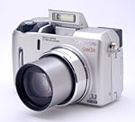 Olympus' Camedia C-740 UltraZoom digital camera. Copyright © 2003, The Imaging Resource. All rights reserved.