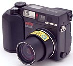Olympus' C-3040 Zoom digital camera. Copyright (c) 2001, The Imaging Resource.  All rights reserved.