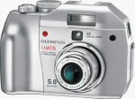 Olympus' Camedia C-5000 UltraZoom digital camera. Copyright © 2003, The Imaging Resource. All rights reserved.