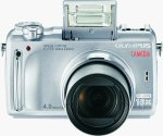 Olympus' C-770 Ultra Zoom digital camera. Courtesy of Olympus, with modifications by Michael R. Tomkins.