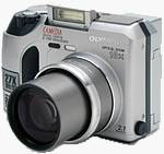 Olympus' Camedia C-700 UltraZoom digital camera. Copyright (c) 2001, The Imaging Resource.  All rights reserved.