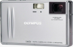 Olympus' Camedia AZ-2 digital camera. Courtesy of Olympus, with modifications by Michael R. Tomkins.