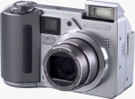 Olympus' Camedia C-5500 Sport Zoom digital camera. Courtesy of Olympus, with modifications by Michael R. Tomkins.