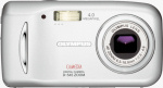 Olympus' Camedia D-545Z digital camera. Courtesy of Olympus, with modifications by Michael R. Tomkins.