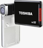 Toshiba's Camileo S30 camcorder. Photo provided by Toshiba America Information Systems Inc.