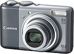 Canon PowerShot A2000 IS digital camera. Courtesy of Canon, with modifications by Zig Weidelich.