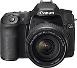 Canon EOS 50D digital SLR. Courtesy of Canon.