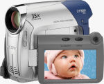 Canon's ZR800 digital camcorder. Courtesy of Canon, with modifications by Michael R. Tomkins.