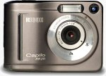 Ricoh's Caplio RR211 digital camera. Courtesy of Ricoh Europe, with modifications by Michael R. Tomkins.