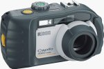 Ricoh's Caplio 400G Wide digital camera. Courtesy of Ricoh, with modifications by Michael R. Tomkins.