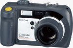 Ricoh's Caplio 500G Wide digital camera. Courtesy of Ricoh, with modifications by Michael R. Tomkins. Click for a bigger picture!